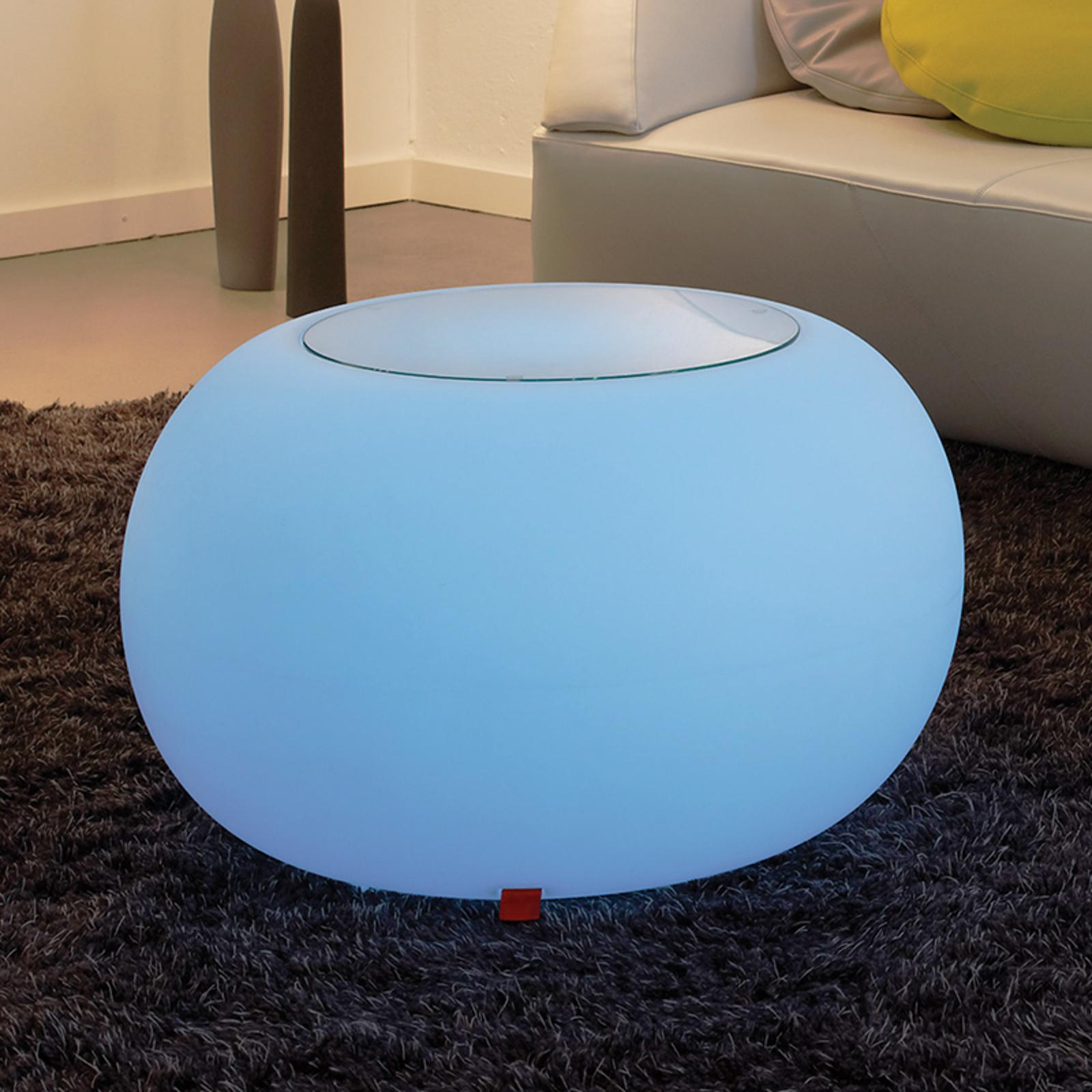 Bord BUBBLE Indoor LED RGB + glassplate