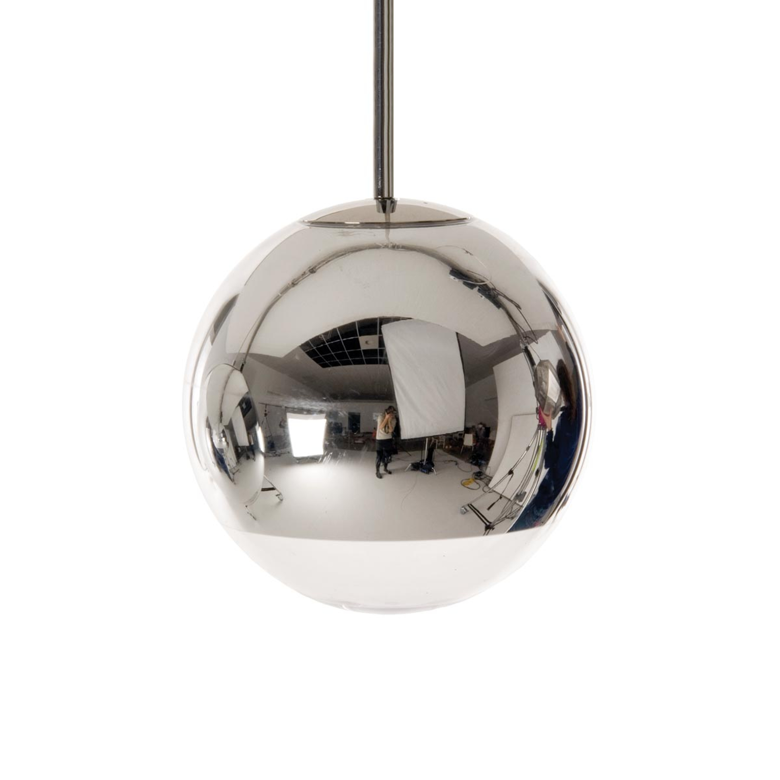 Tom Dixon Mirror Ball - Hängeleuchte chrom, 25 cm