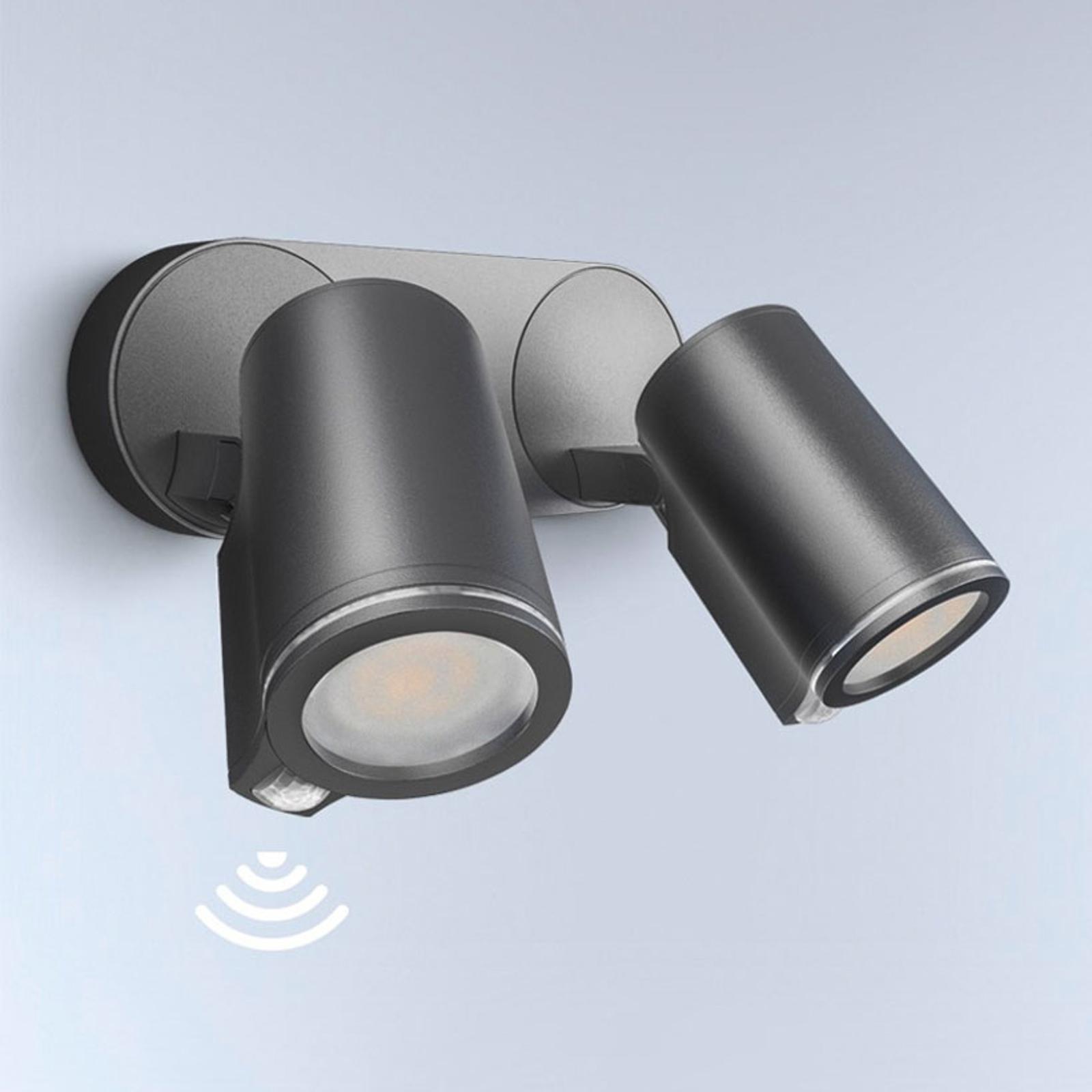 STEINEL Spot Duo Sensor LED-Strahler zweiflammig