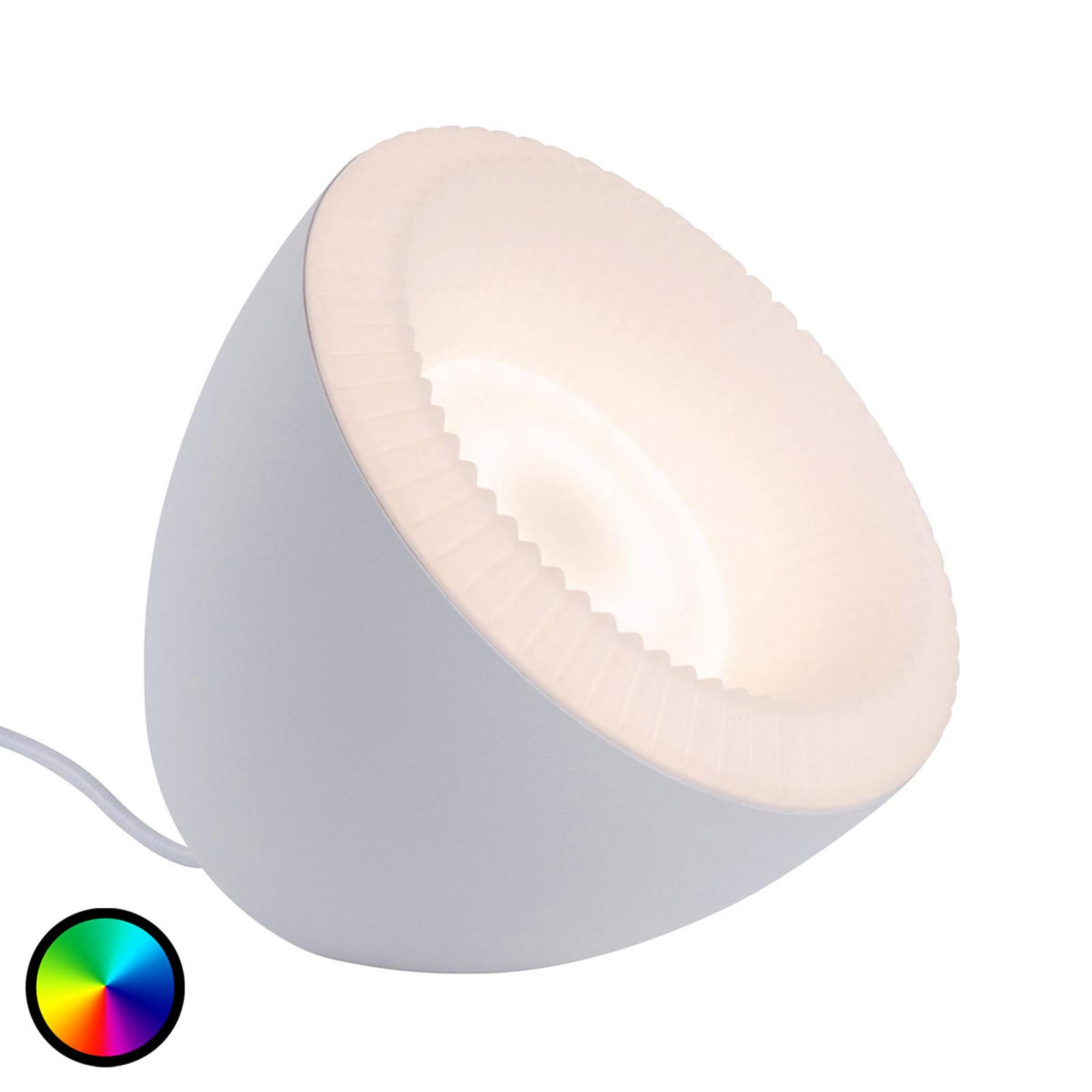Paulmann Bluetooth Cornus lampe à poser LED RGBW