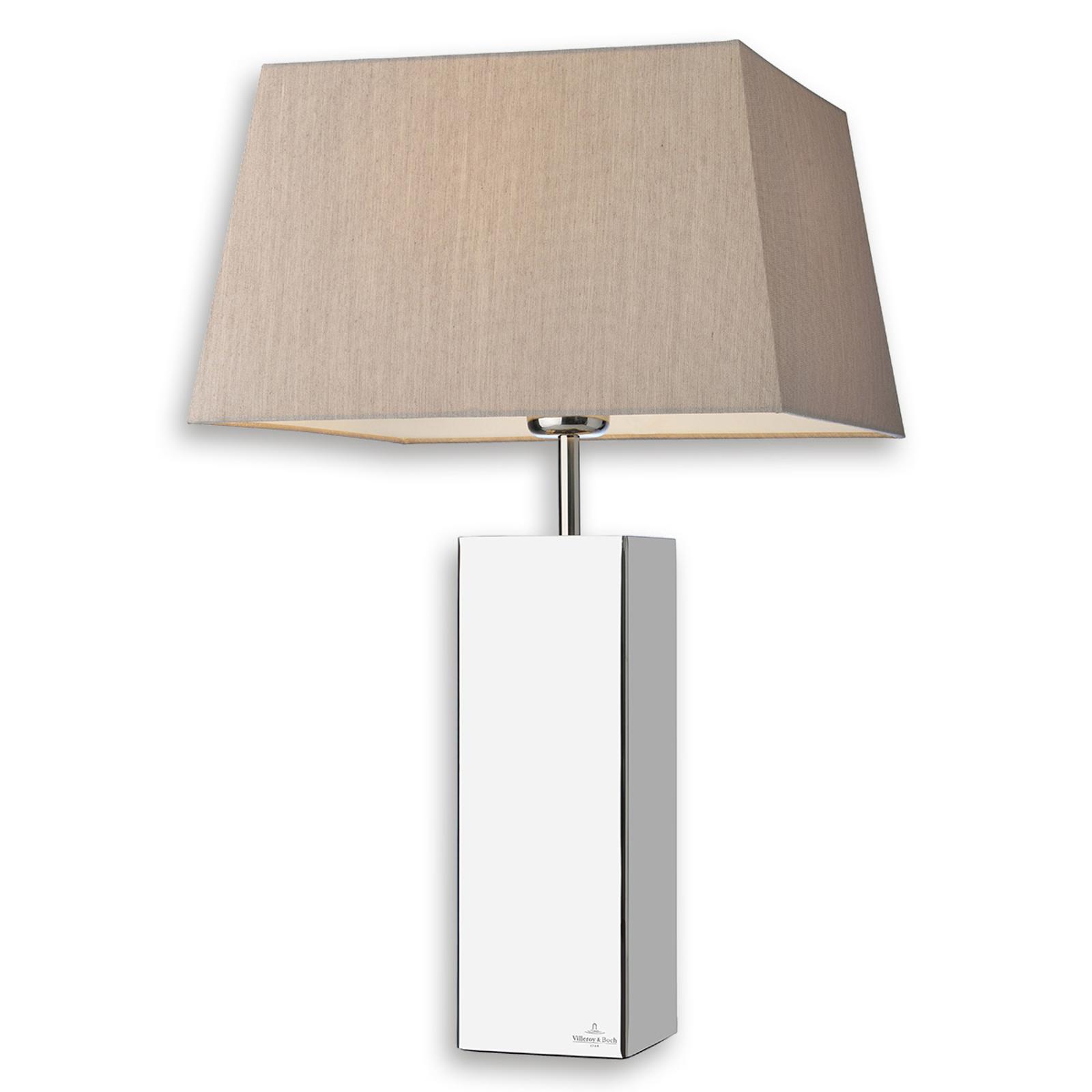 Villeroy & Boch Prag - vierkante textiel tafellamp