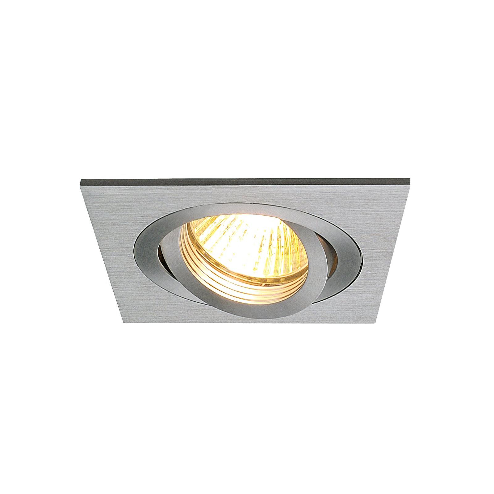 Reflektor wpuszczany NEW TRIA 1 GU, regulowany