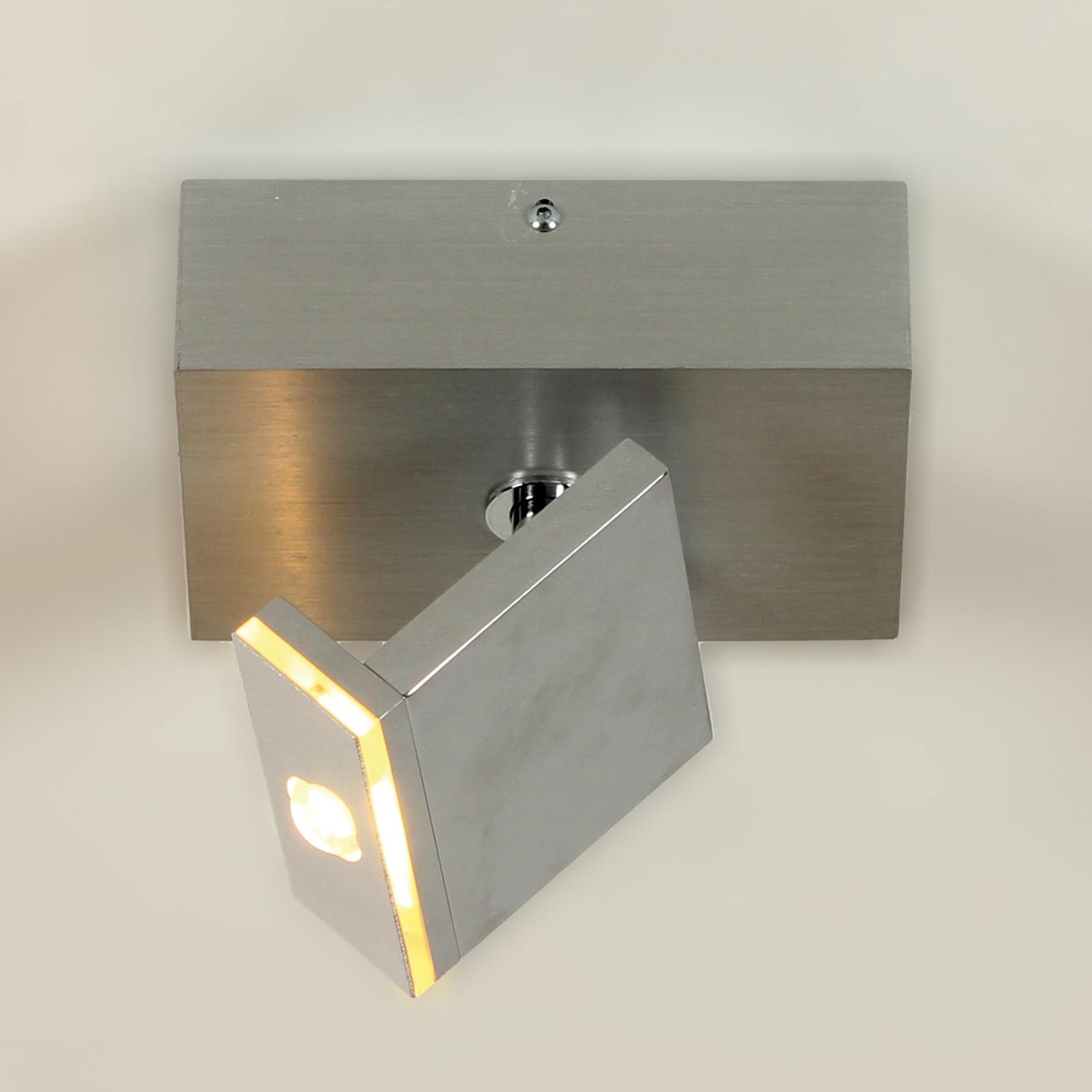 Liten LED-takspotlight Elle, vippbar och dimbar