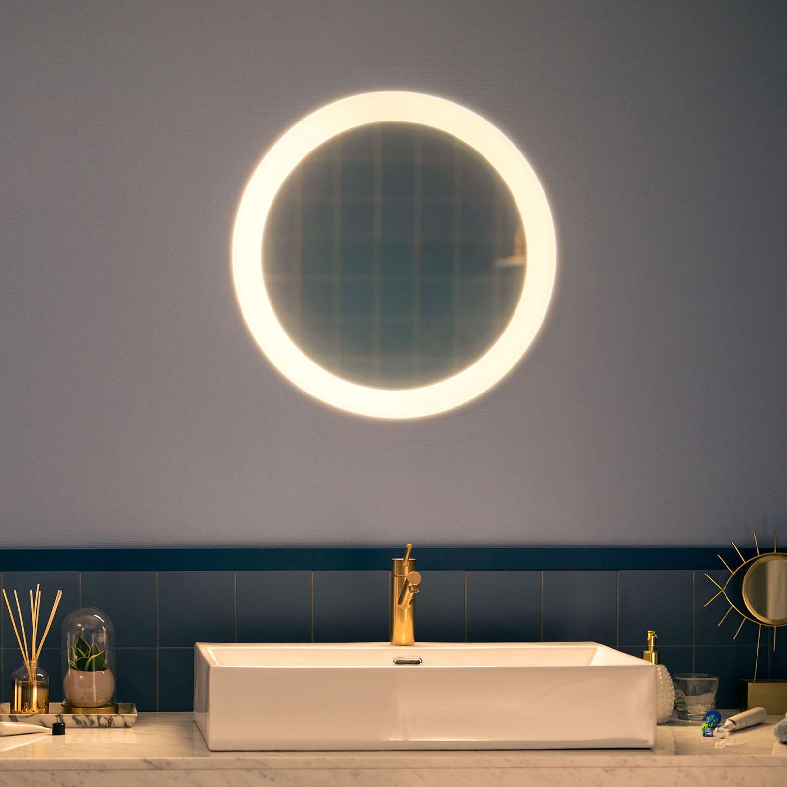 Philips Hue White Ambiance Adore lustro łazienkowe