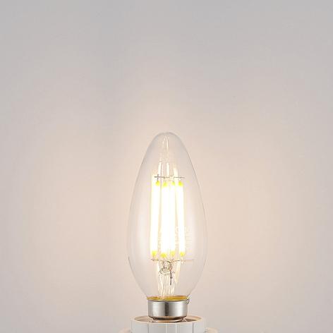 LED žárovka E14 Filament 4W 2.700K 3 st. stmívač