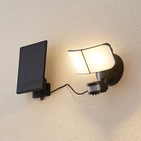 Arcchio Omino LED-Solar-Wandstrahler mit Sensor
