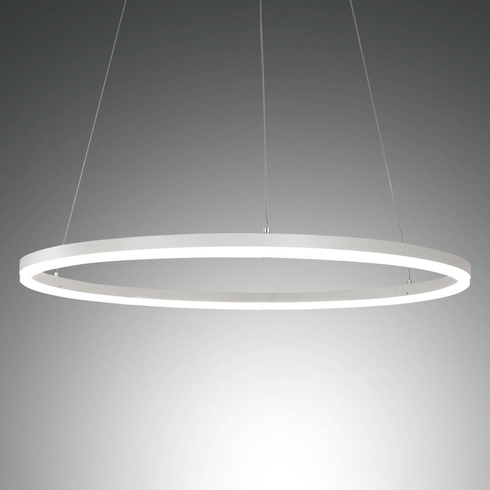 LED Pendelleuchte Giotto, einflammig, weiß