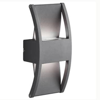 AEG Elroy LED-utomhusvägglampa i aluminium