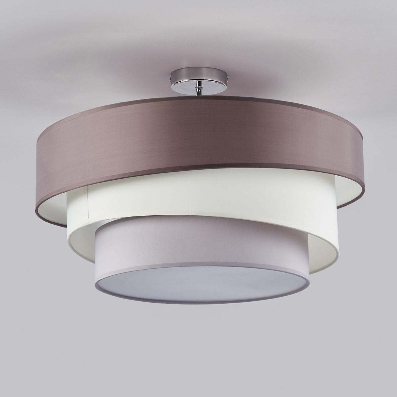 Melia - lampada da soffitto a tre strati