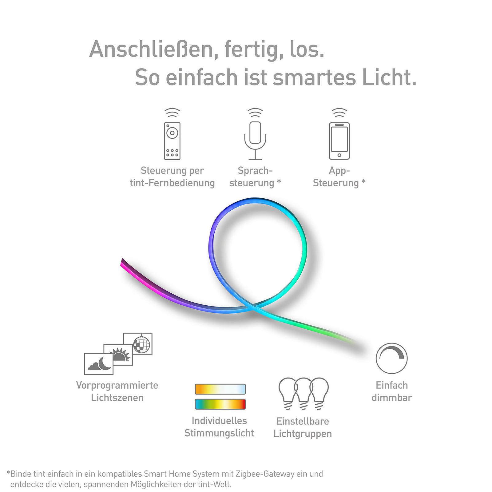 Müller Licht tint LED-Strip Outdoor, 500 cm