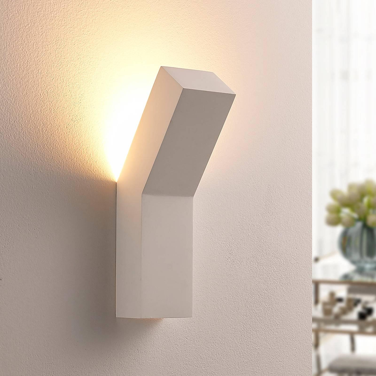 Moderne gips LED uplight wandlamp Tida