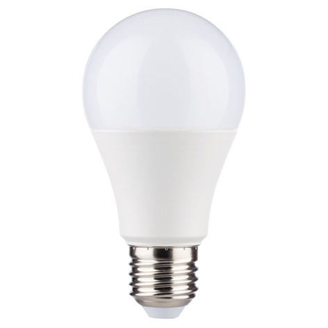 Bombilla LED E27 9 W 4.000 K 806 lm, sensores