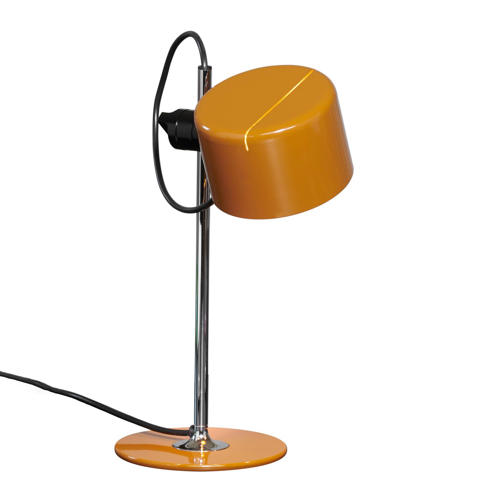 Oluce Mini Coupè LED-Tischleuchte, ockerbraun
