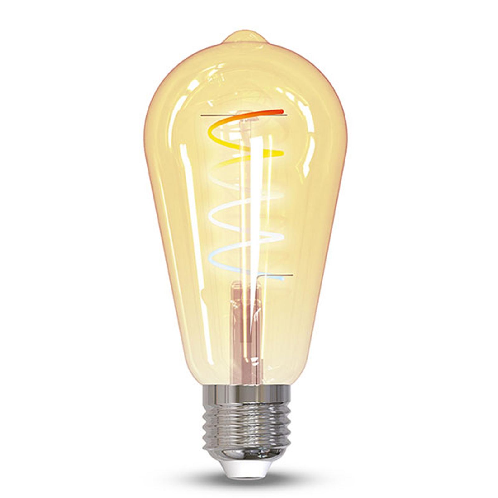 Müller Licht tint lampadina LED retro oro E27 5,5W