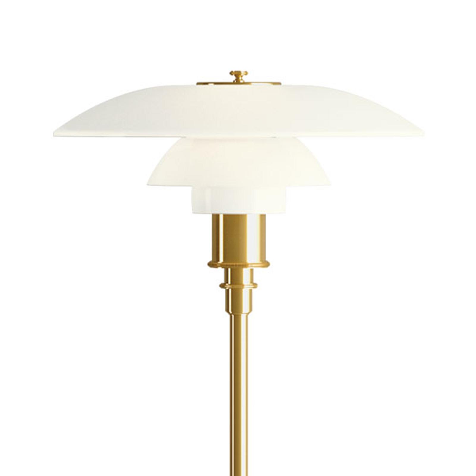 Louis Poulsen PH 3 1/2-2 1/2 Stehlampe messing