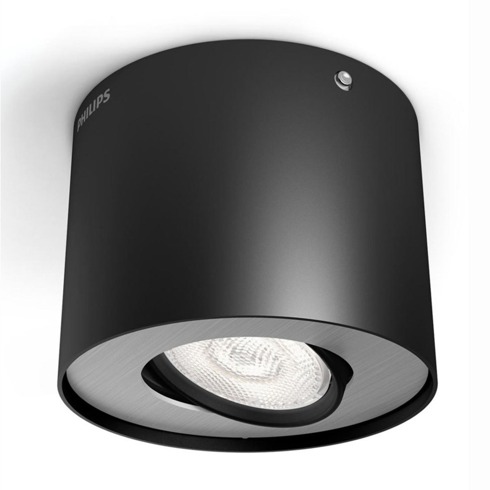 Philips Phase LED-Downlight schwarz 1-flammig