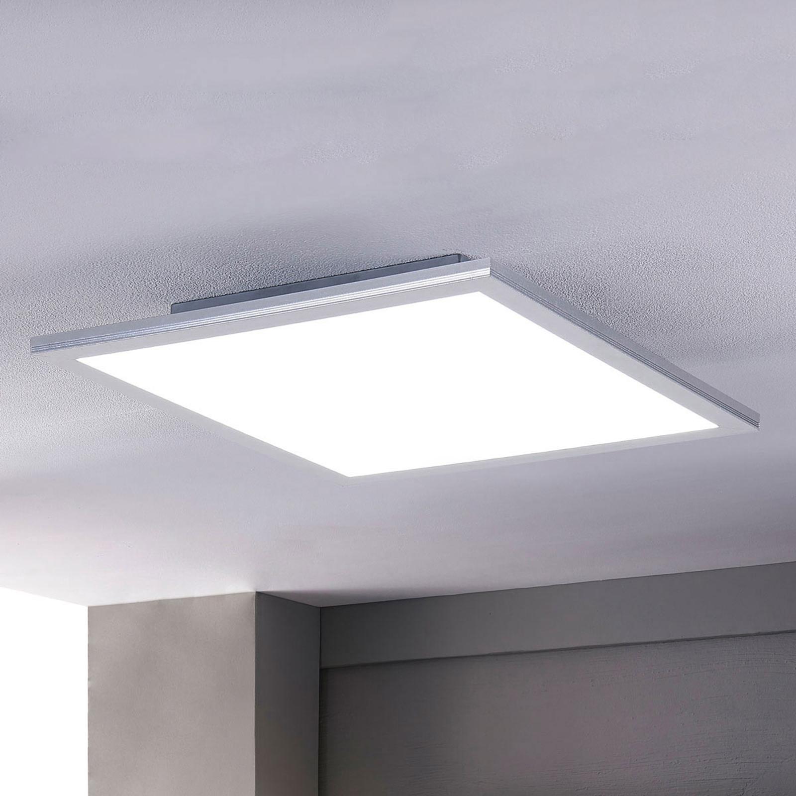 Lindby Livel panneau LED, CCT, 62cm x 62cm