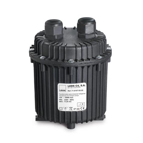 Transformador a prueba de agua con IP68