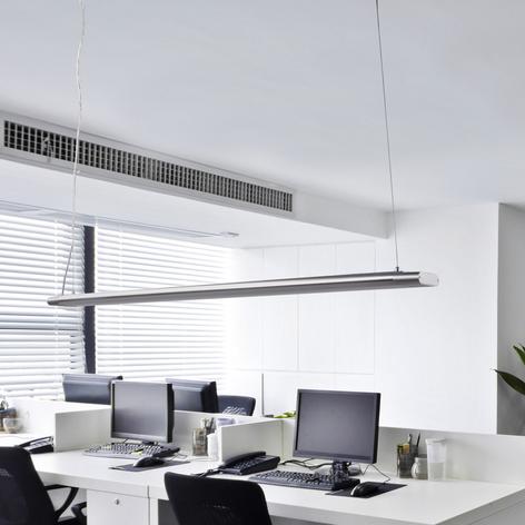 Lång pendellampa Vinca med ljusstarka LED-lampor