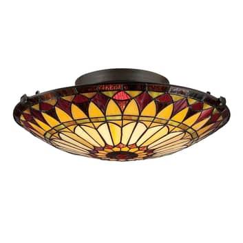 Plafondlamp West End in Tiffany-design