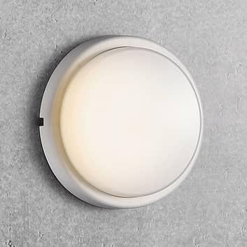 Utendørs LED-vegglampe Cuba Energy, Ø 17,5 cm