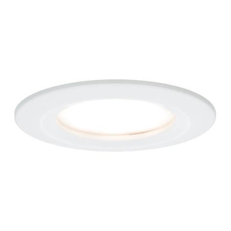 Paulmann 3-pack LED-spotlight Slim Coin, dimbar