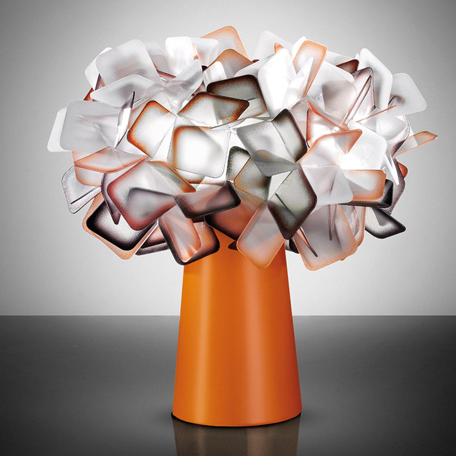 Clizia - lampe à poser de designer, orange