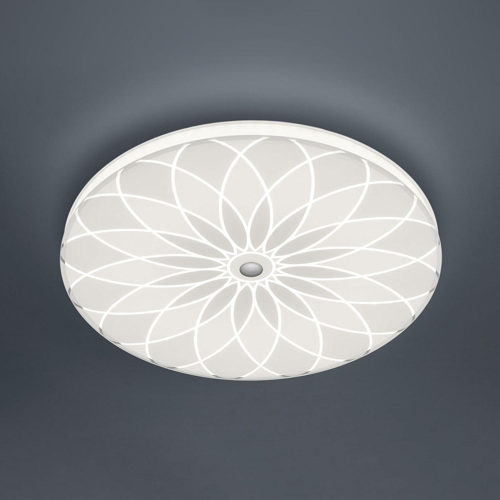 BANKAMP Mandala plafoniera LED fiore, Ø 42 cm