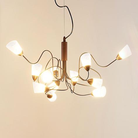 Speelse LED hanglamp Hannes