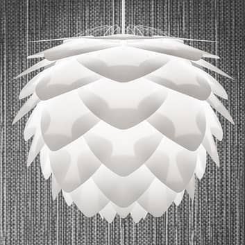 Dekorativ pendellampe Silvia medium, hvit