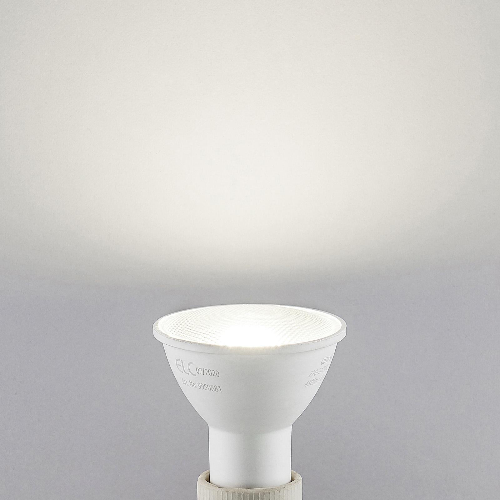 ELC LED reflektor GU10 5W 10ks 4000K 120°
