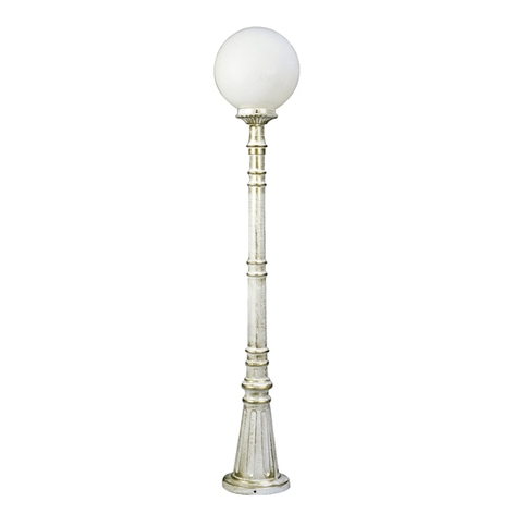 Dekorativ gånglampa 161