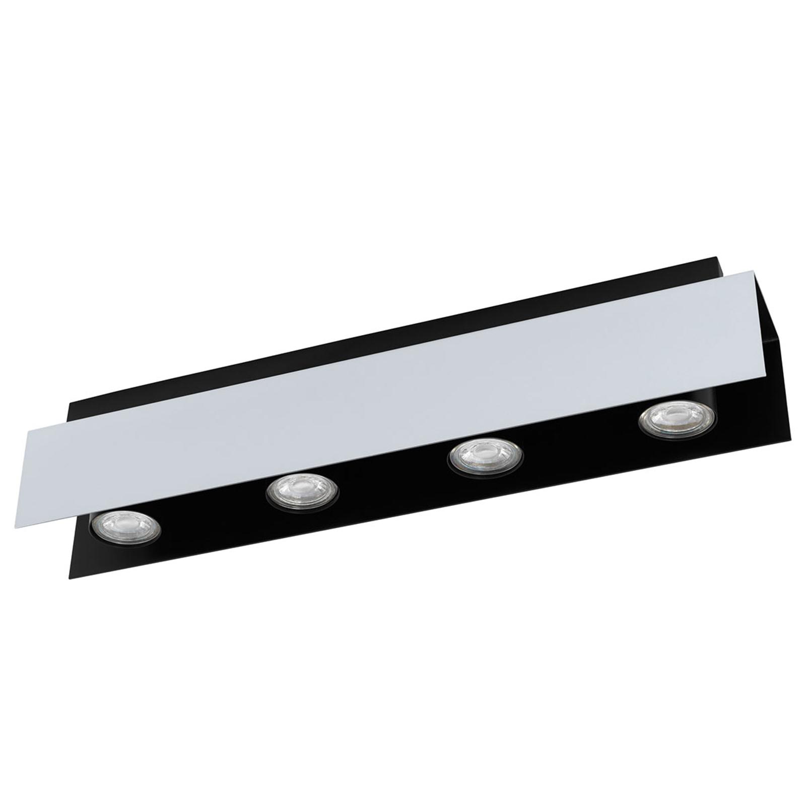 LED stropní světlo Viserba 55cm