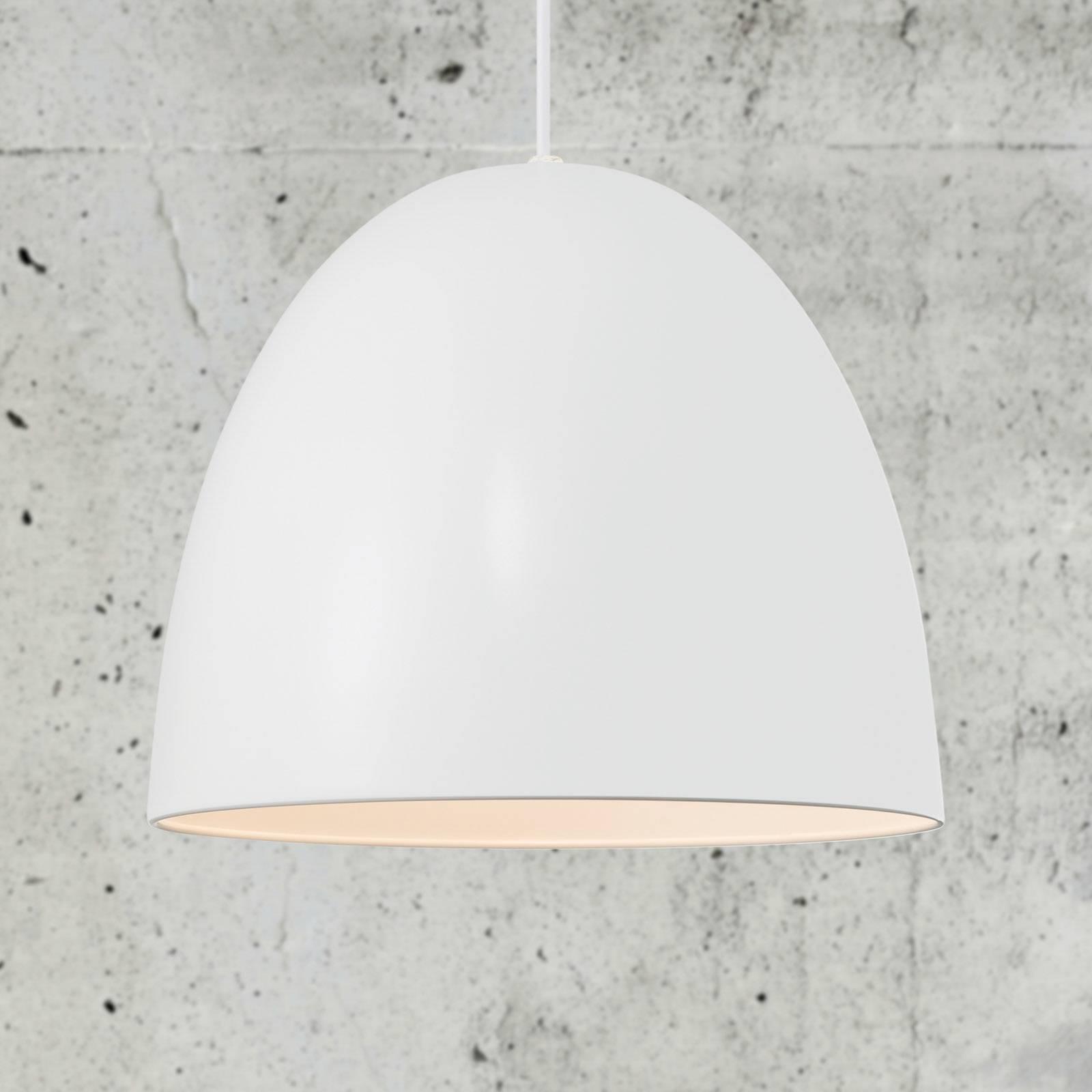 Billede af Alexander hængelampe med metalskærm, hvid