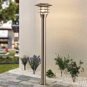 Lindby Dimara aurinkokäyttöinen LED-pylväsvalaisin