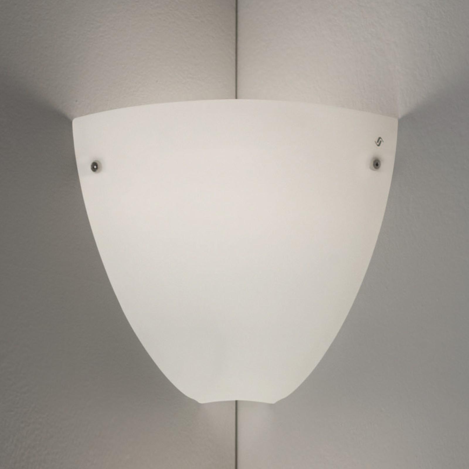 Corner hjørnevegglampe for innendørs montering