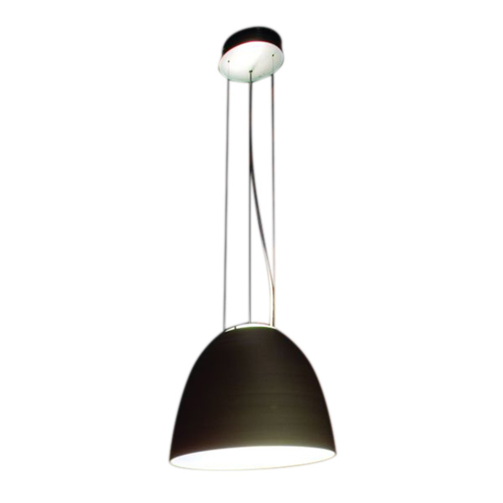Artemide Nur Mini LED-Hängeleuchte, anthrazit