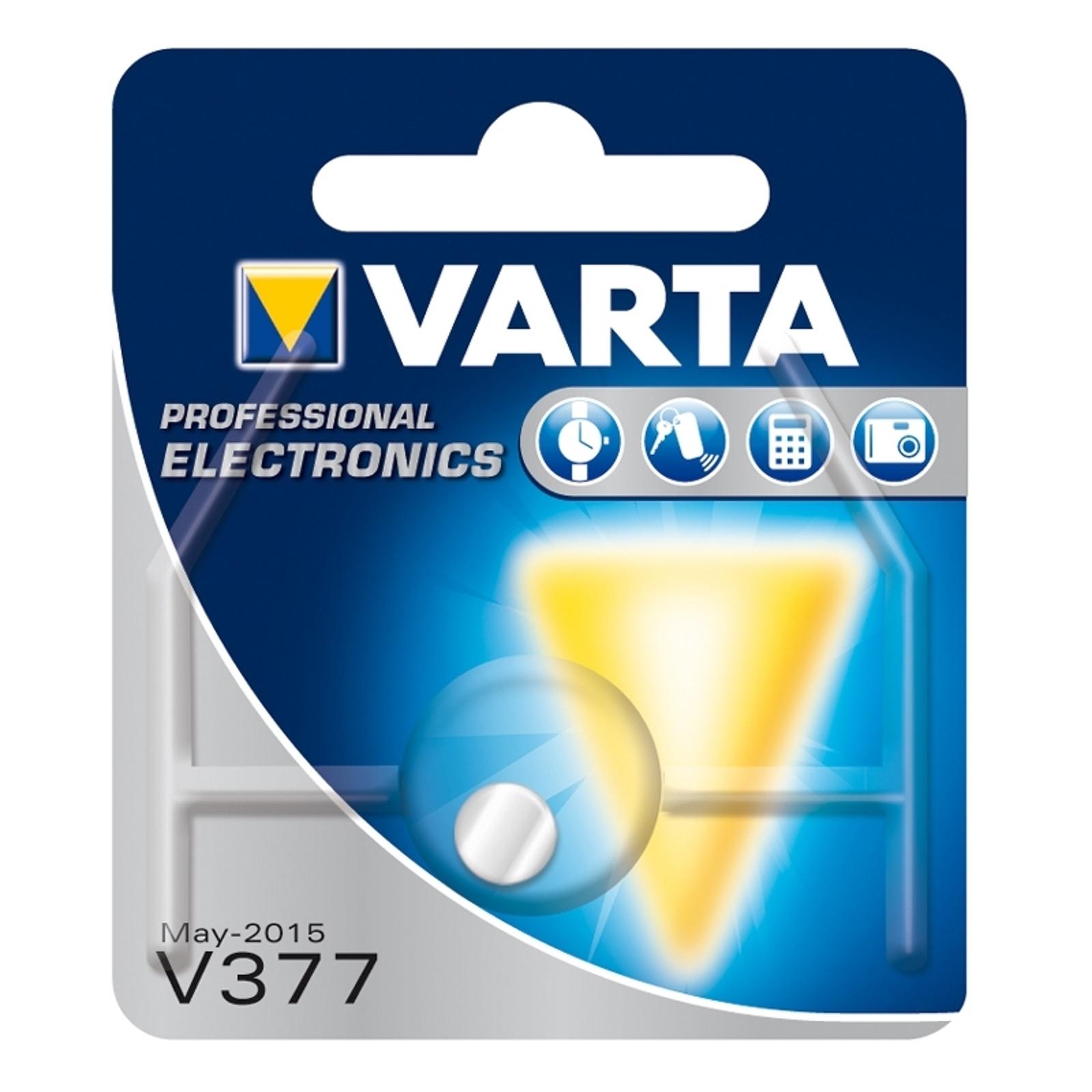 Mała bateria V377 VARTA