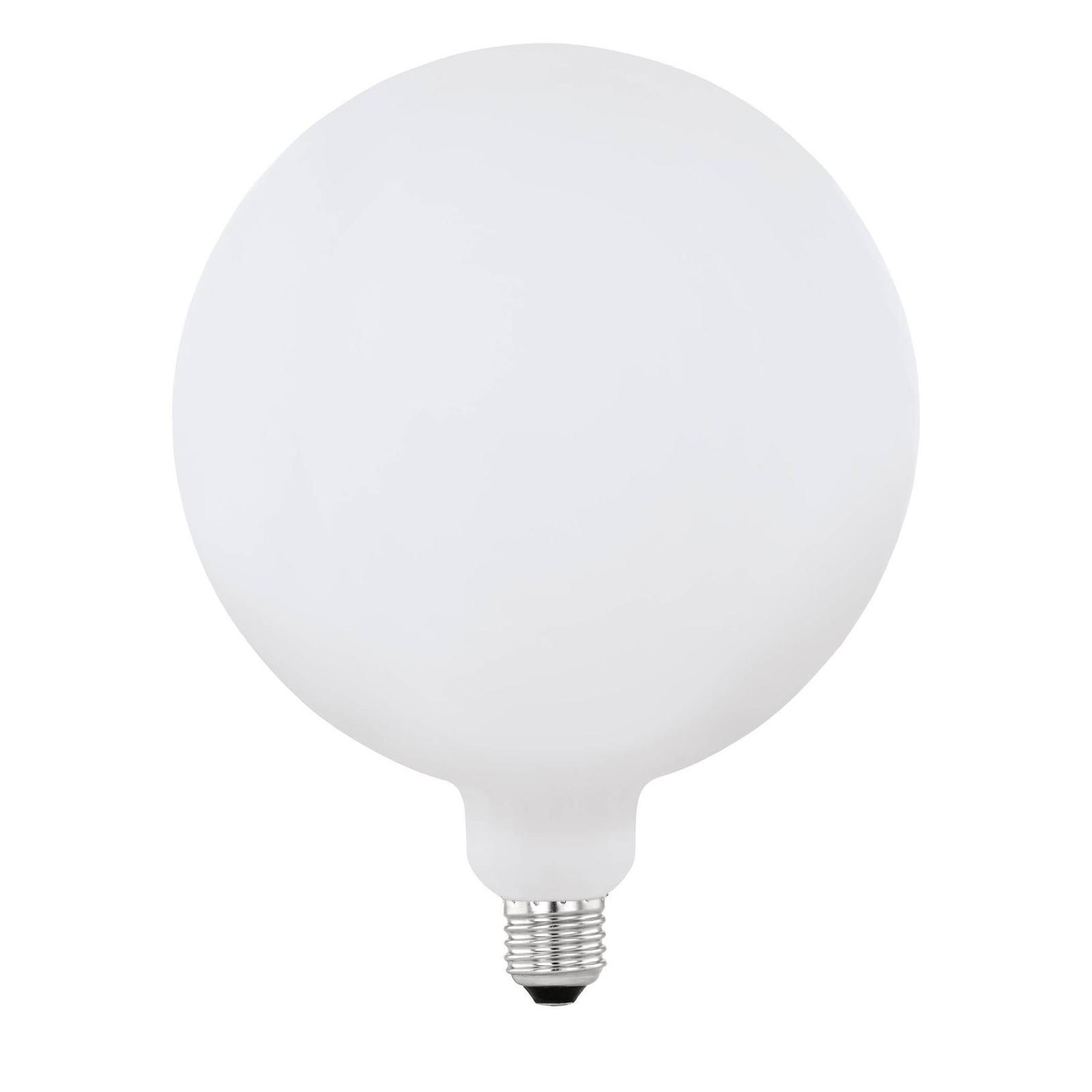 LED žárovka E27 4W Big Size opál, tvar Globe