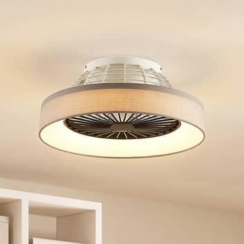 Starluna Circuma LED-loftventilator, grå