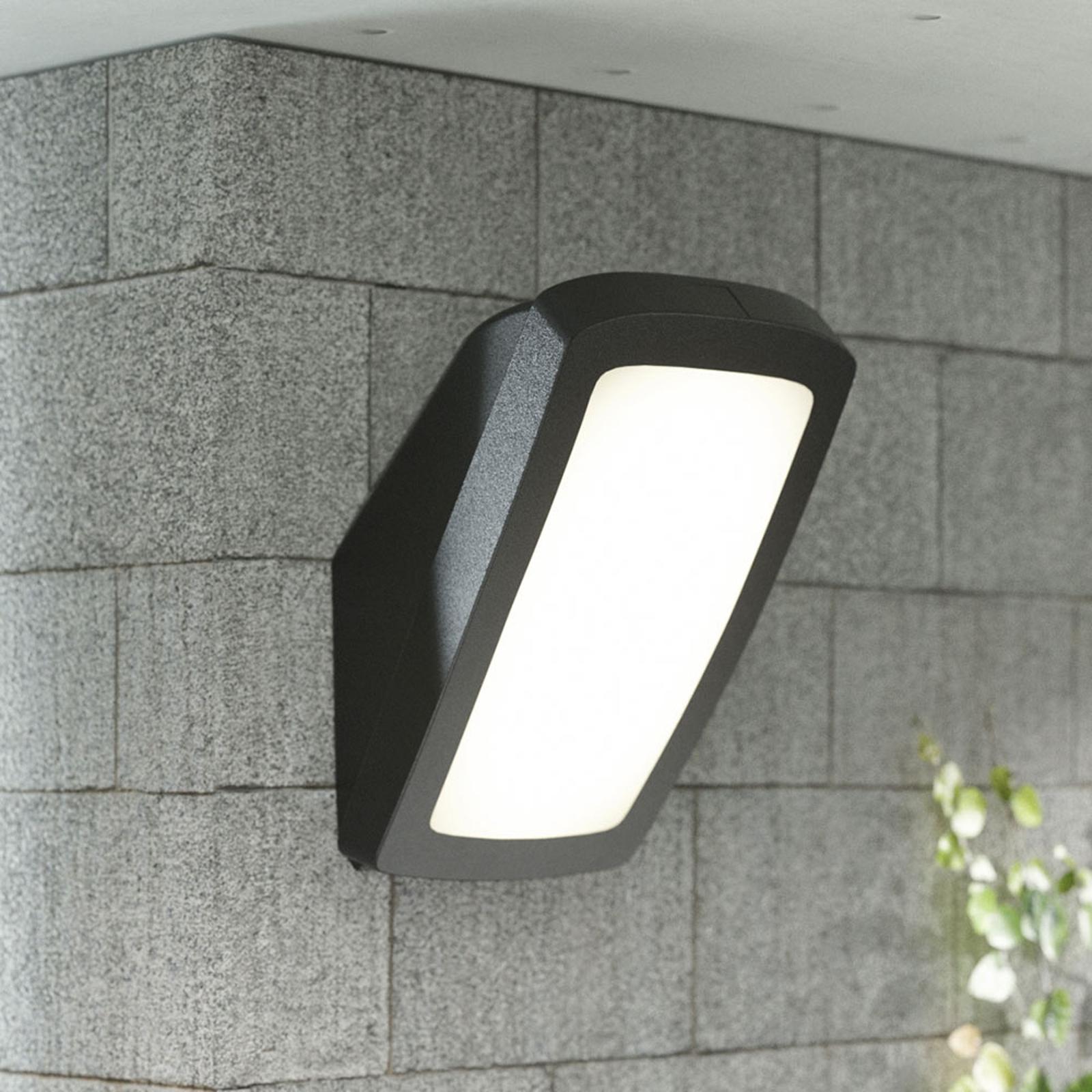 Kirkas ulkoseinävalaisin Germana LED 14W, musta