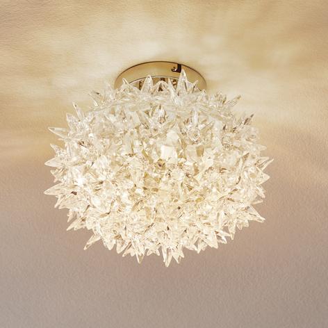 Plafoniera LED trasparente Bloom, 28 cm