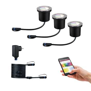 Paulmann Plug & Shine montaż ZigBee RGBW 3 szt.