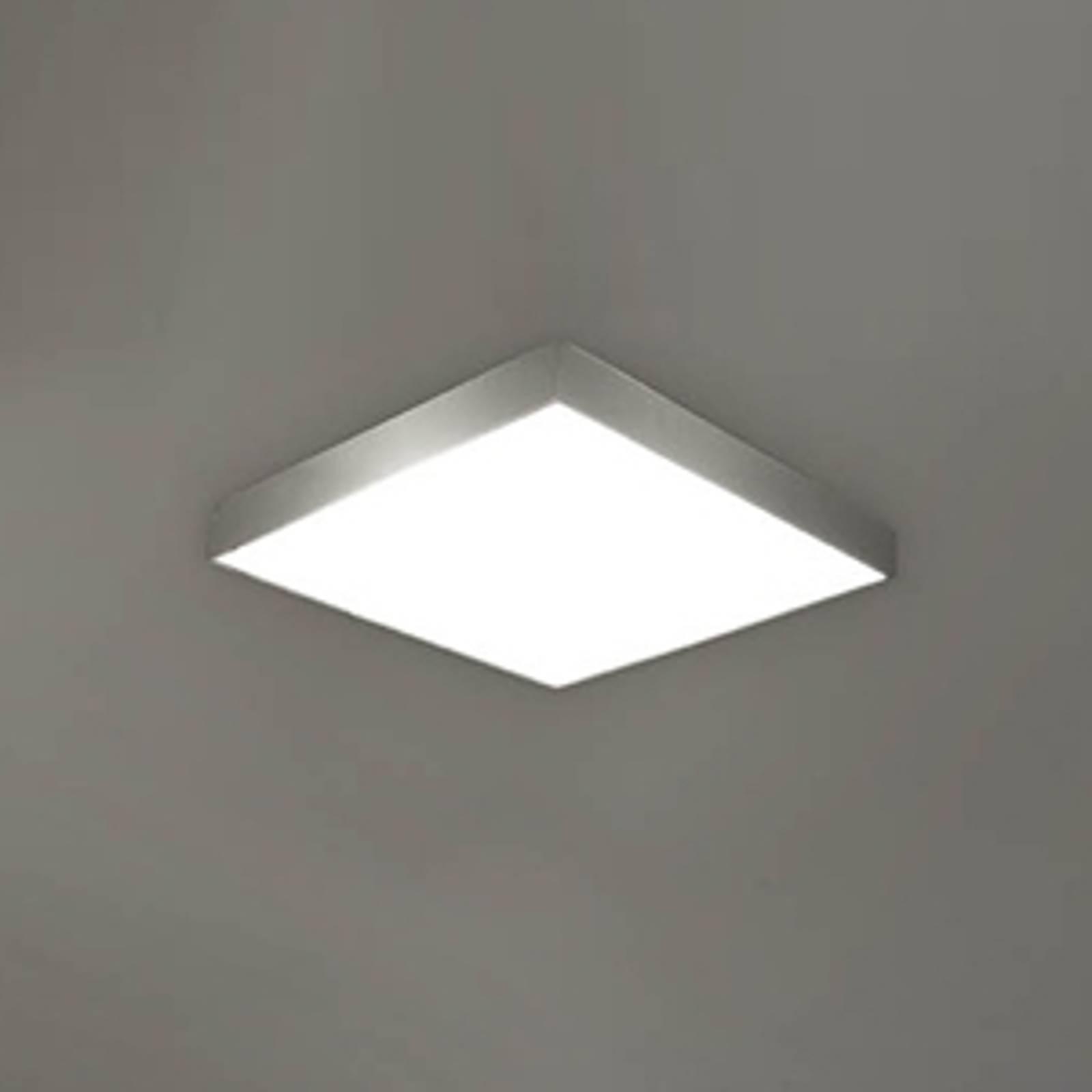 APOLO – łazienkowa lampa sufitowa, IP44, nikl.