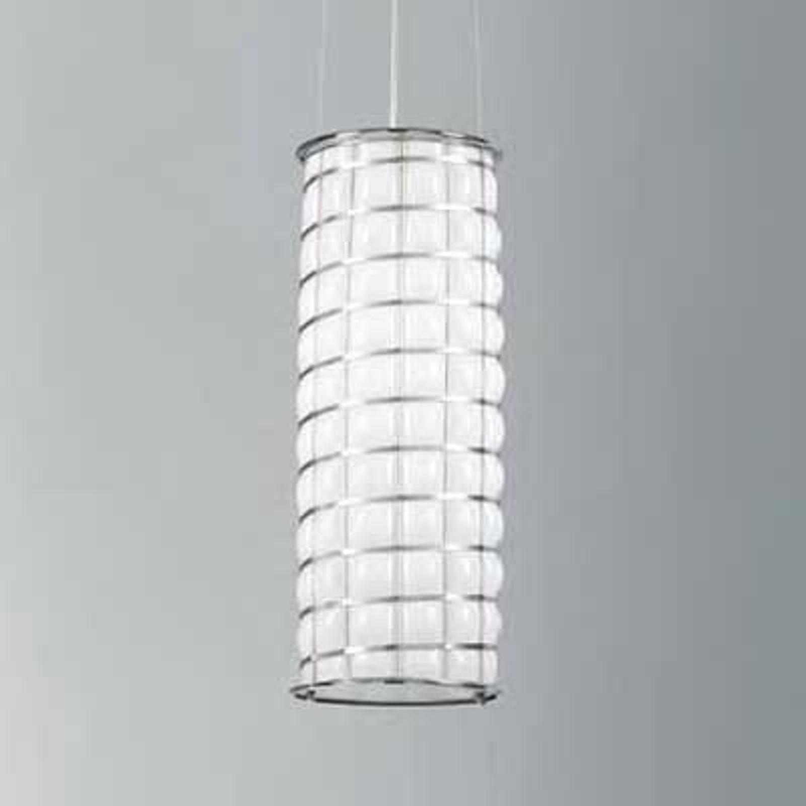 Ręcznie wykonana lampa wisząca RETE 46 cm