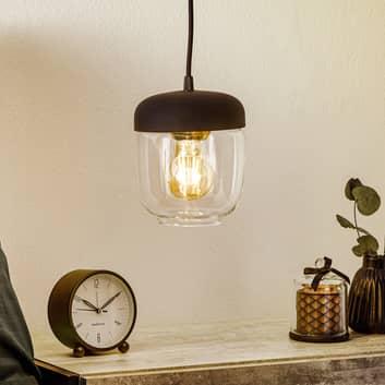 UMAGE Acorn lámpara colgante, negro/latón