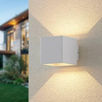 ELC Esani aplique LED de exterior, blanco