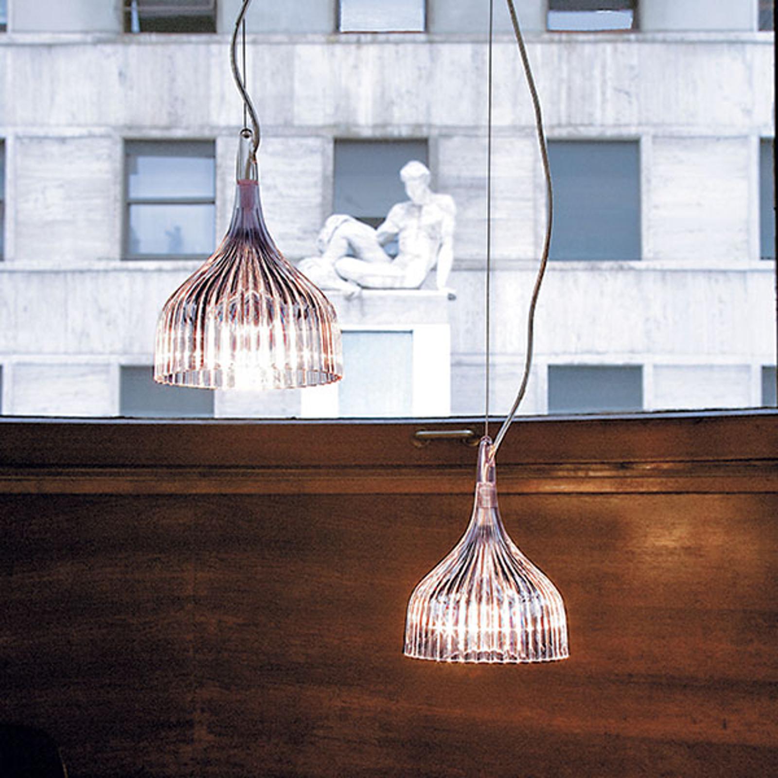Kartell É - Pendelleuchte mit LED, transparent