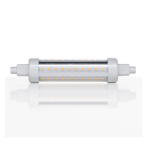 R7s 10W 830 LED-Lampe in Stabform
