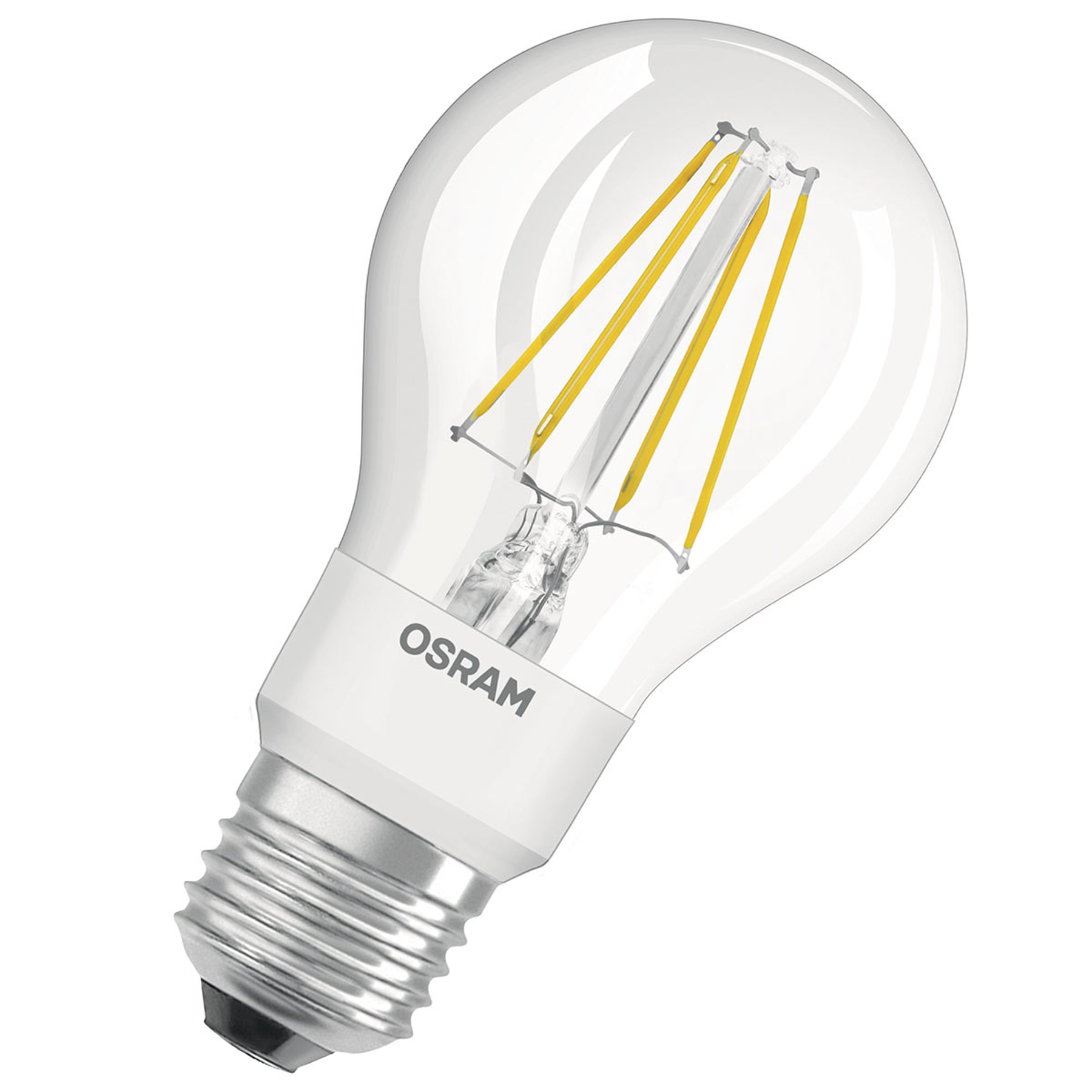 OSRAM LED-Lampe 4,5W Star+ GLOWdim Filament klar